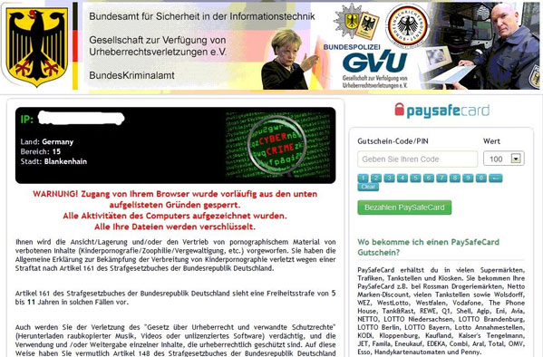 Bundespolizei-GVU-Virus
