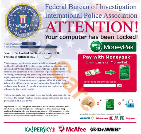 Unlock PC or Mobile Device From FBI Block Virus Screen