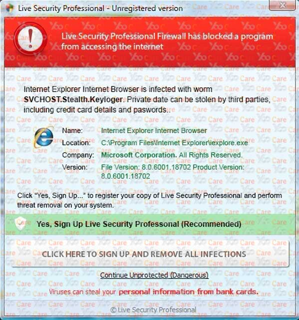 Live-Security-Profession al-unregistered version B
