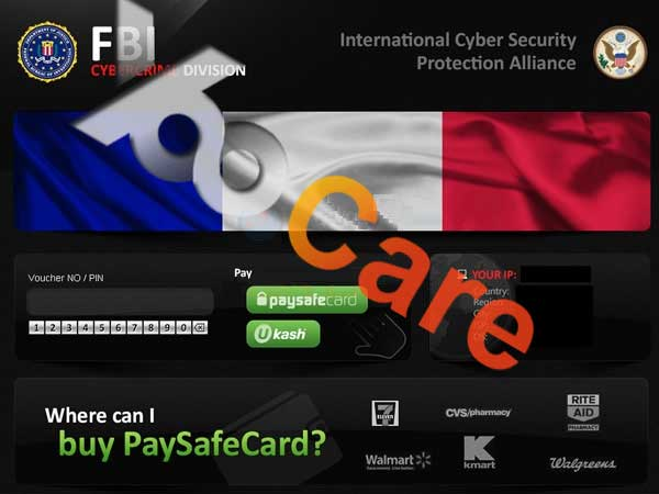 FBI Cybercrime Division International Cyber Security Protection Alliance Virus