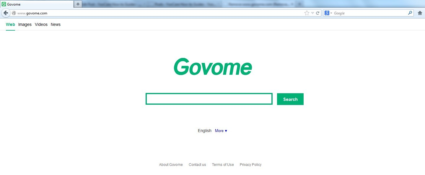 Remove Www.govome.com Redirect