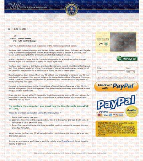 FBI-Paypal-Virus-Scam