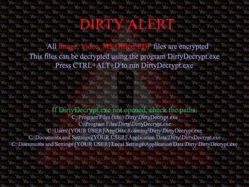 Dirty-Decrypt-virus-A