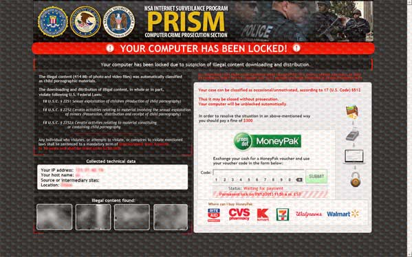 NSA Internet Surveillance Program Virus