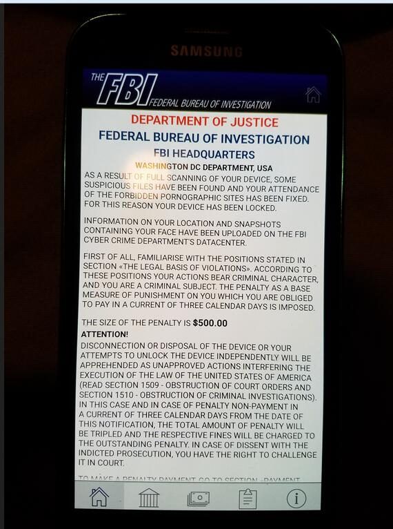 Fbi Scam Locked Up My Android Zte Phone What To Do