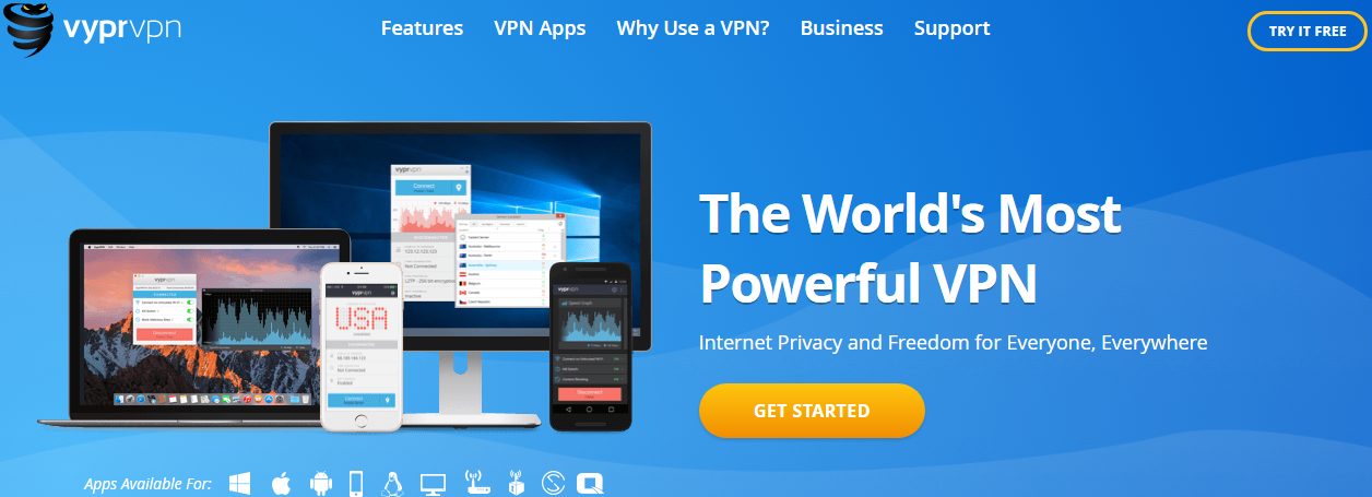 Vyprvpn coupon code get 50 off promo code 2018 yoocare how to this vpn provider uses 256 bit encryption technology l2tpipsec protocols to guarantee that you will get 100 free from online attacks fandeluxe Gallery