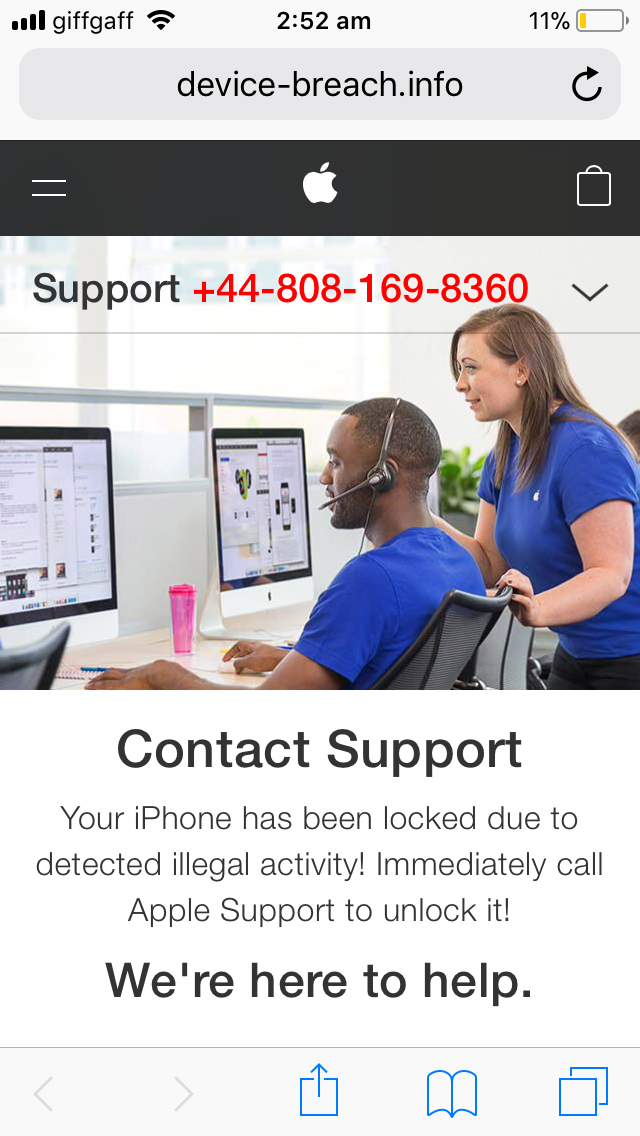 How to Remove Device-breach info Warning from iPhone/iPad? - YooCare