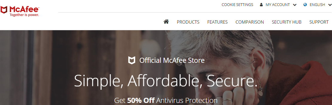 McAfee Coupon Code - Get 50% Discount Off 2019 - YooCare How