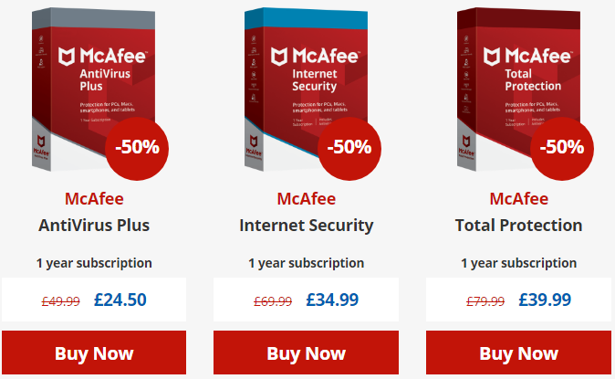 McAfee Coupon Code - Get 50% Discount Off 2019 - YooCare How-to