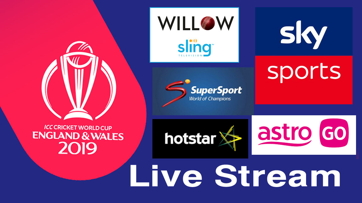 How to Watch the 2019 ICC Cricket World Cup online