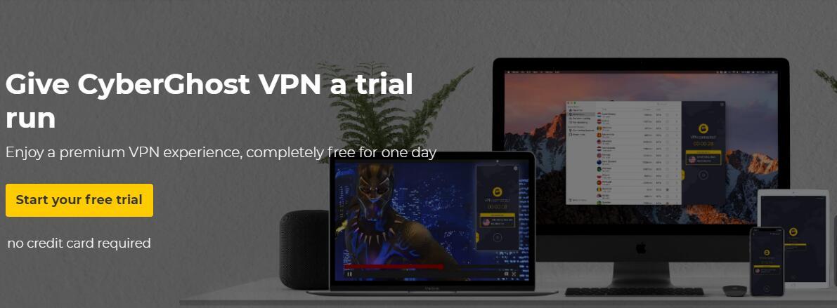 CyberGhost VPN Free Trial : Give VPN a Trial Run 2019